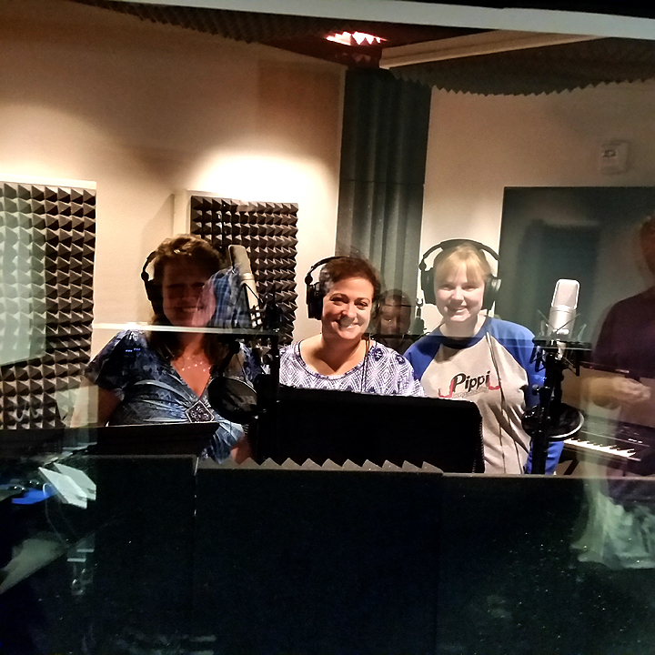 Recording Session at JumpDog Audio Productions - 3 Vocalists