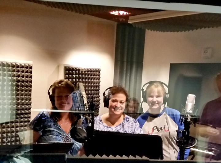 Vocalist Recording aJumpDog Audio Productions